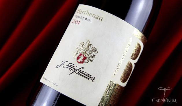 Pinot Nero Barthenau 2004 - cover