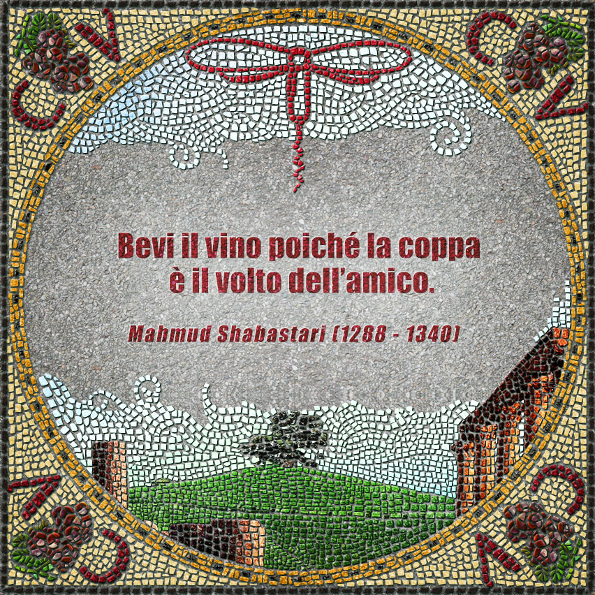 citazioni mosaico Shabastari