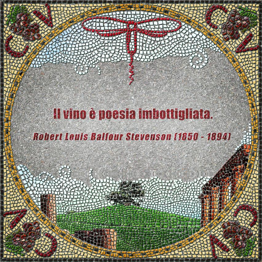 citazioni mosaico Stevenson