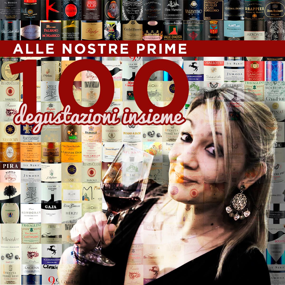 Mosaico 100 bottiglie